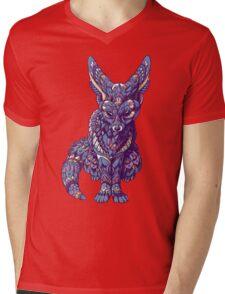 Fennec Fox (Color Version) Mens V-Neck T-Shirt