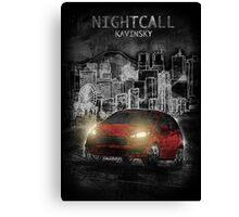 Kavinsky: Nightcall Canvas Print