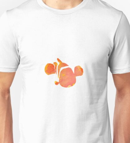Fish inspired silhouette Unisex T-Shirt