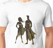 Super Heros Man And Women Unisex T-Shirt