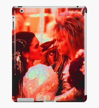 the Labyrinth Sara and The king  iPad Case/Skin