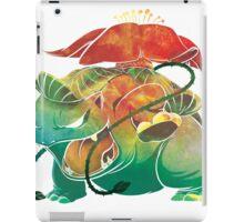 Venasaur texture iPad Case/Skin