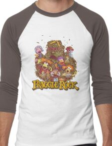 Fraggle Rock Retro Design Men's Baseball ¾ T-Shirt