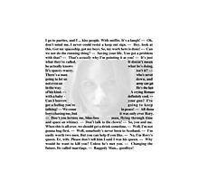 Doctor Who - Quotes from Amy Pond Photographic Print