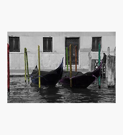 Gondola Fiesta Photographic Print