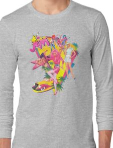 Jem and the Holograms Retro Long Sleeve T-Shirt