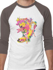 Jem and the Holograms Retro Men's Baseball ¾ T-Shirt