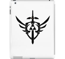 Link's Sword, Triforce and Shield iPad Case/Skin