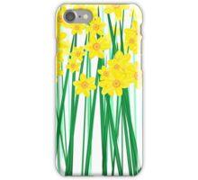 Springtime Daffodils. iPhone Case/Skin