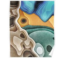 Landscape of Layers Poster