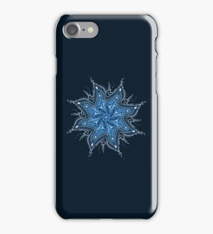 Ice Bay Mandala iPhone Case/Skin