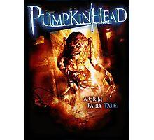 Pumpkin Head Photographic Print