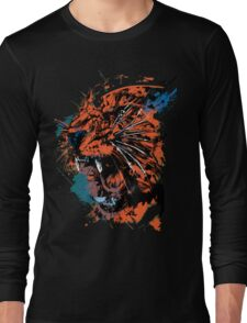 Faded Tiger Long Sleeve T-Shirt