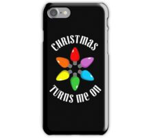 Funny Christmas Shirt iPhone Case/Skin