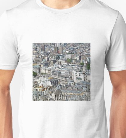 London From The Eye. Unisex T-Shirt