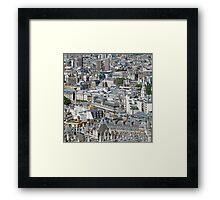 London From The Eye. Framed Print