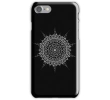 Black Mandala iPhone Case/Skin