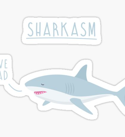 Sharkasm Sticker