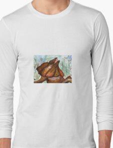 Australian Frilled Neck Lizard  Long Sleeve T-Shirt