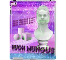 Hugh Mungus Vaporwave Aesthetic Parody iPad Case/Skin