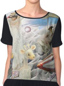 The Beach Party Collaboration with Andy Nawroski Chiffon Top