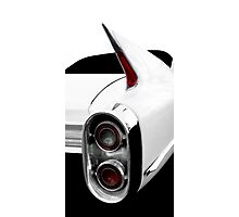 1960 Cadillac Tailfin Detail - High Contrast Photographic Print