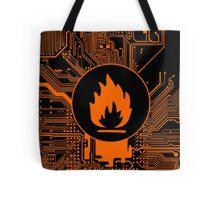 Cybergoth - Flammable (orange) Tote Bag