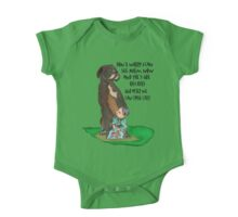 Boxer and Son One Piece - Short Sleeve