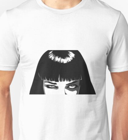Pulp Fiction - Mia Wallace 2 Unisex T-Shirt