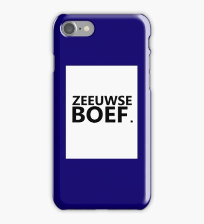 Zeeuwse Boef 3 iPhone Case/Skin