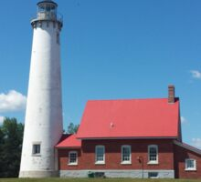 East Tawas Lighthouse Sticker