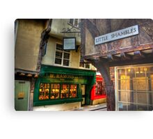 Little Shambles - York Metal Print