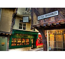 Little Shambles - York Photographic Print
