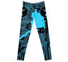 Cybergoth - Syringe (blue) Leggings