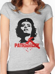 She Guevara Smash the Patriarchy  Women's Fitted Scoop T-Shirt