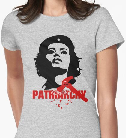 She Guevara Smash the Patriarchy  Womens Fitted T-Shirt