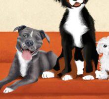 Animal Family Sticker