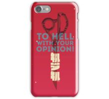 Kill la Kill - Scissor Blade Smackdown iPhone Case/Skin