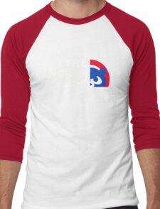 Chicago Cubs The North Side Men's Baseball ¾ T-Shirt