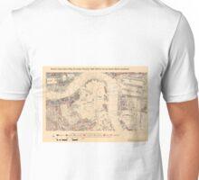 Booth's Map of London Poverty for Surrey Docks ward, Lewisham Unisex T-Shirt
