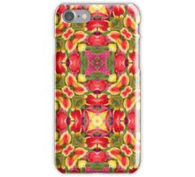 Holiday Tulip Bliss #5 iPhone Case/Skin