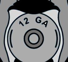 Mallard Down Blue Logo Sticker