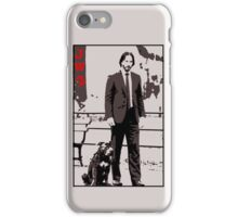 John Wick and his dog iPhone Case/Skin