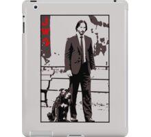 John Wick and his dog iPad Case/Skin