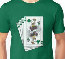 King McGregor Playing Card (Large) Unisex T-Shirt
