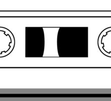Cassette Tape - Vintage Retro Audio Sticker