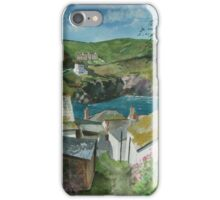 """Down to the Sea"" - Port Isaac, Cornwall iPhone Case/Skin"