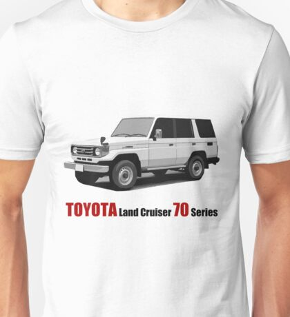 Toyota Land Cruiser 70 Series HZJ77 (machito) Unisex T-Shirt