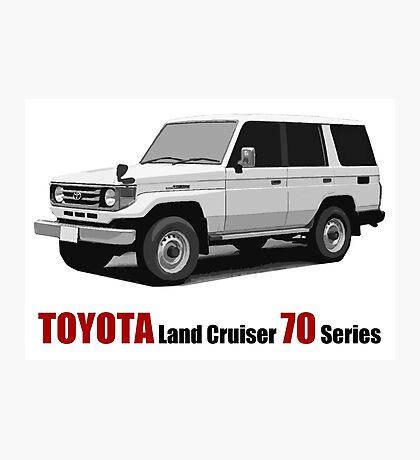 Toyota Land Cruiser 70 Series HZJ77 (machito) Photographic Print