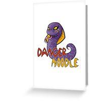 Danger Noodle Greeting Card